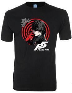 **Legit** Persona 5 Protagonist Thief Joker Authentic Anime Game T-Shirt #90799