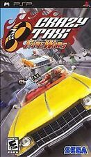 Crazy Taxi: Fare Wars (Sony PSP, 2007) Disc Only