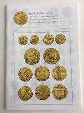 JEAN ELSEN AUCTION CATALOG BELGIUM ANCIENT & WORLD COINS LISTE 263 Jan-Mar 2013