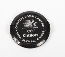 Canon 52 mm officiel Caméra 35 mm 1984 JEUX Olympic Lens Cap (A180)