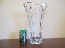 Shannon Crystal, 14 inch Vase, Excellent Condition