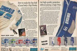 1988 Jeff Ward Sinisalo Motocross Pants Jersey - 2-Page Vintage Motorcycle Ad