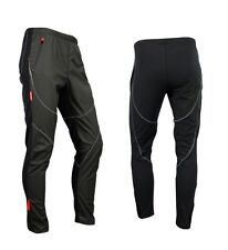 New Men' Thermal Winter Cycling Windproof Pants Casual Trousers Outdoor Tights