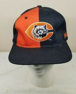 Vintage Chicago Bears Pinwheel Snapback Hat Cap by Starter 90s