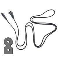 6Ft AC Power Cord Flat Fig8 Cable for M-Audio Studiophile AV20 AV30 AV40 Speaker
