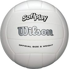 Wilson Outdoor Soft Play Volleyball Ball Beach Game Training White