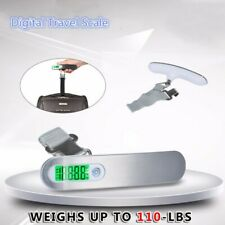 50kg/10g Electronic Portable LCD Digital Luggage Scale Travel Hanging Weight New