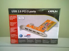 USB 2.0 PCI ports 5 porte Kraun