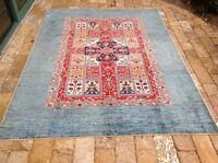 "Oriental Rug Fine super Kazak Wool  Hand Knotted Tribal Design Rug 5' 10 x 8' 0"""
