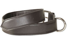 rimbaldi Dog Collar Leather for Dogs with 45-55 cm neck circumference in Brown