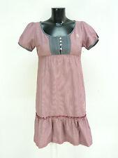 Vive María vestido talla S/rojo klein a cuadros & trend-chic (n 4108 f)