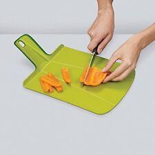 Joseph Joseph Chop2Pot Foldable Plastic Cutting Board Non-Slip, Small, Black