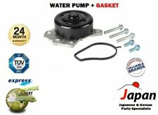 FOR TOYOTA  AYGO 1.0i  + VITZ IMPORT  2/2005->ONWARDS  WATER PUMP KIT + BOLTS