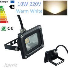 10W 220V Warm White  LED Flood Light Security Outdoor Garden Waterproof Spotlamp