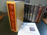 Easton Press MUHAMMAD ALI His Life & Times Hauser, Signed, C.O.A.Walnut Wood S/C