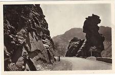 06 - cpsm - Entrée des Gorges de Daluis - La gardienne