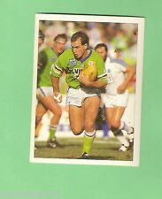 1992 SELECT RUGBY LEAGUE  STICKER - #40  MATTHEW WOOD, CANBERRA RAIDERS