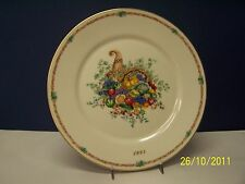 Lenox * America's Bounty * 1995 Thanksgving Plate