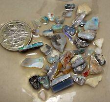 Mintabie Opal Rough Parcel 99.2 carat total Needs Cutting Lapidary