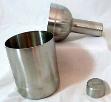 SOUTHERN COMFORT STAINLESS STEEL 3 PART COCKTAIL SHAKER 22cm & 244g