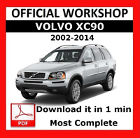 OFFICIAL WORKSHOP Manual Service Repair Volvo XC90 2002 - 2014 Wiring Diagram