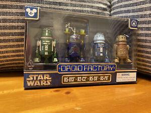 Disney 2017 Star Wars Droid Factory The Clone Wars R5-013 R2-C2 R5-S9 R5-P8 BAD