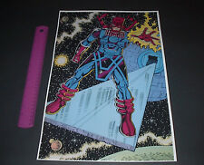 MARVEL COMICS GALACTUS SUPER VILLAINS SPACE POSTER PIN UP