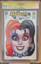 CGC 9.8 SDCC Exclusive Harley Quinn #17 Signed Amanda Conner Jimmy Palmiotti