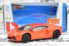 LAMBORGHINI AVENTADOR 1:43 Model Diecast Models Die Cast Metal Car Toy Orange