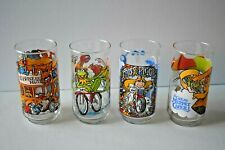 LOT 4 Vintage McDonald The Great Muppet Caper 1981 Drinking Glasses Nice Clean
