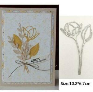 Bouquet Metal Cutting Dies Stencil Scrapbooking DIY Album Stamp Paper Card Decor