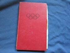 EQUESTRIAN OLYMPIC GAMES London XIV 1948 Book & Program with Notations ~RareFind