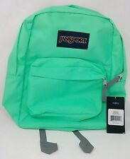 NWT Authentic Jansport Backpack Seafoam Green Superbreak Bag Ships from Canada