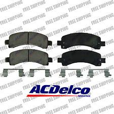 Disc Brake Pad-Ceramic Rear ACDelco Advantage For Chevrolet Express 2500 3500