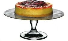 Pasabache glass footed Cake Stand Pâtisserie 28 cm