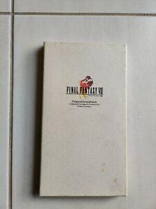 Final Fantasy 8 viii OST by Nobuo Uematsu (CD, 4 Discs, Squaresoft) Japanese jap