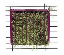 Super Pet Rabbit Hay Buffet Feeder with Snap-Lock Lid (Colors May Vary), New