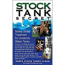 Stock Tank Secret-Pack of 2-Livestock tanks,Ponds,Fountains-Fre e Shipping
