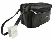 METERS BLACK LEATHER MAN BAG COIN HOLDER CHANGE CASH BAG DISPENSER TAXI DRIVER