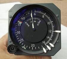 727 Airliner Mach Airspeed Indicator Gauge Instrument , NICE!