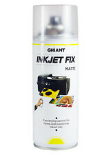 Ghiant Ink Jet Fixative 400ml Aerosol Spray Varnish - Inkjet - Matt