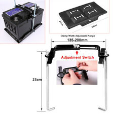 Car Storage Battery Holder Hold Down Tray Adjustable Clamp Stabilizer Bracket