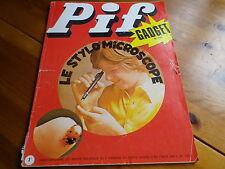 PIF GADGET n° 190 de 1972 sans gadget, bon état, voir photo