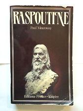RASPOUTINE 1985 MOUROUSY ILLUSTRE