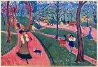 """ANDRE DERAIN RARE 1948 FAUVISM LMTD ED FRENCH LITHOGRAPH PRINT """" HYDE PARK """"1906"""