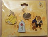 PIN'S Disneyland Paris BOOSTER BELLE & LA BETE / Beauty and The Beast OE