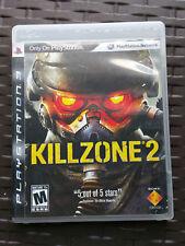 Killzone 2 (Sony PlayStation 3, 2009) w/Manual PS3