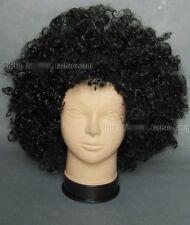 Perücke Wig Cosplay BROOK one piece luffy men curls Locken afro schwarz männer