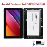 """10.1"""" Pour ASUS Transformer Book T100 T100T 5490NB LCD Écran Tactile + Cadre"""