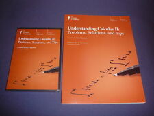 Teaching Co Great Courses DVDs    UNDERSTANDING  CALCULUS  II       brand new
